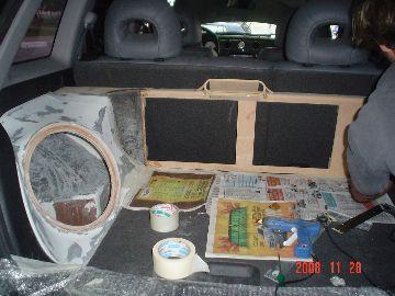 Airtrek 1 – Construção do porta malas