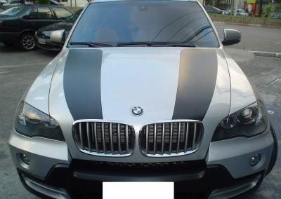 BMW Colocação de faixas