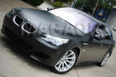 BMW Envelopamento Preto Fosco