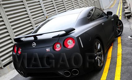 Nissan Envelopamento Preto Fosco