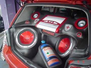 Golf Turbo Nitro – Porta malas Personalizado