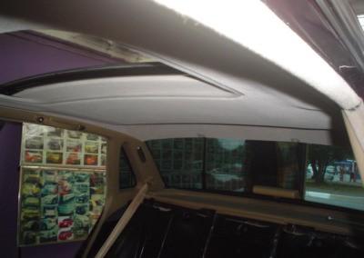 Jaguar – Trocando a forração do teto