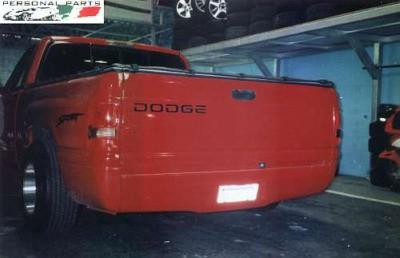 Dodge Ram – Parachoque embutido trazeiro