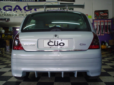 Clio 2 – Parachoque Trazeiro (Mod. Strator)