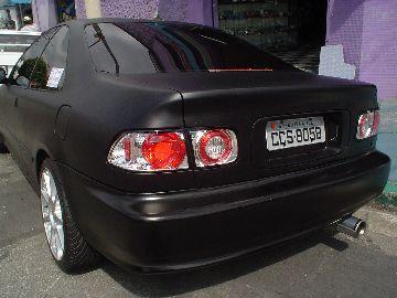 Honda (Preto Fosco)