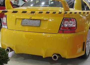 Audi A4 – Traz. Modelo Glf