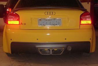 Audi A3 – Traz. Modelo Vcrt