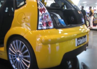 Citroen C3 – Parachoque Trazeiro Modelo Especial