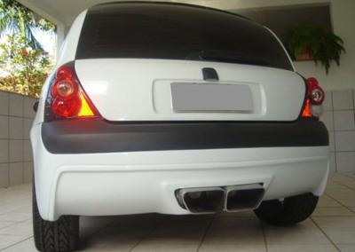 Clio – Parachoque trazeiro (Mod. Vcrt)