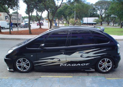 Picasso – Spoiler lateral